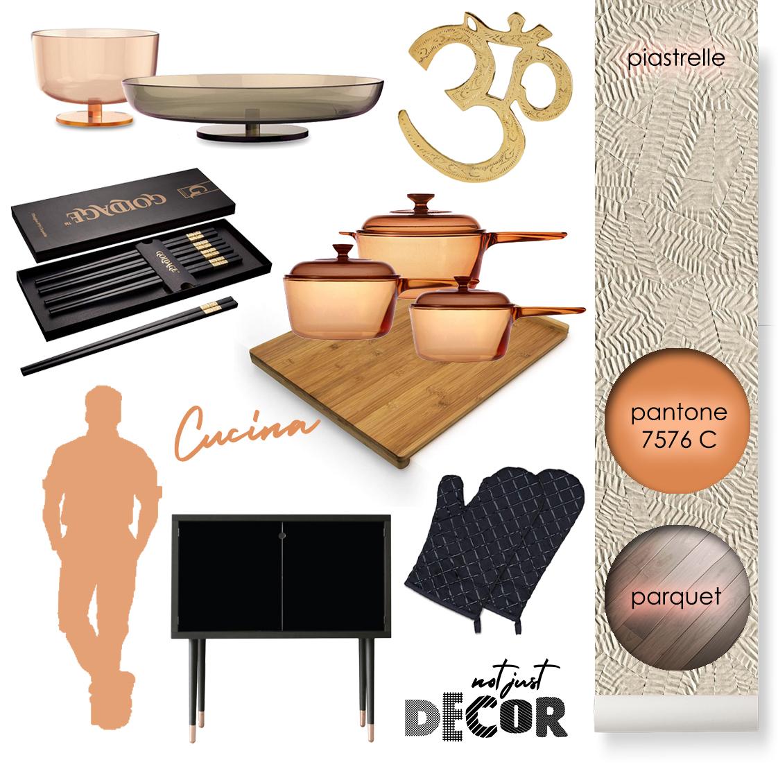 Stile ETNICO cucina arredamento accessori