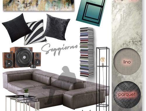 stile minimal soggiorno