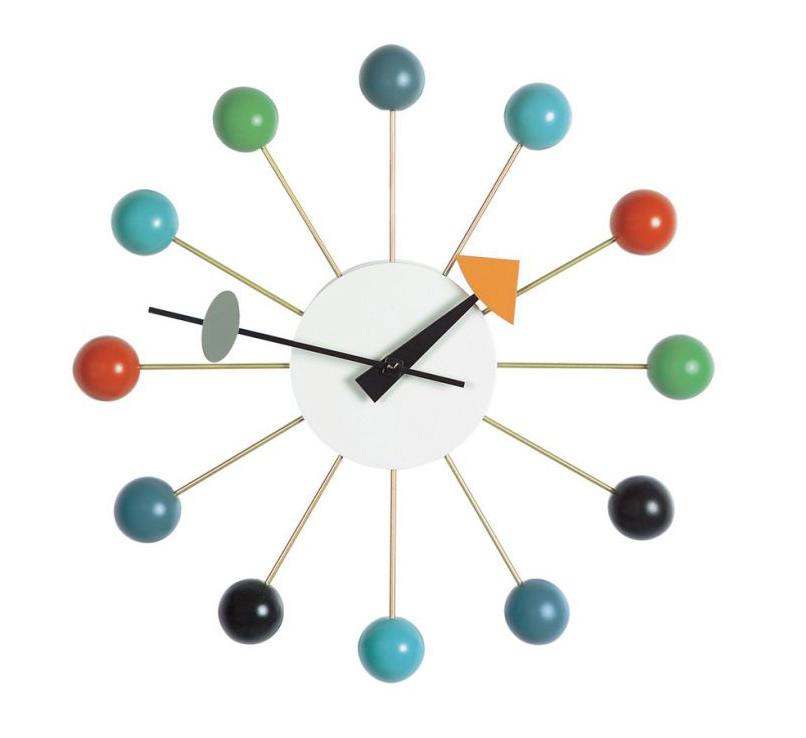 design vintage orologio ball George Nelson
