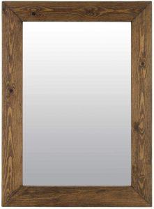 bagni da sogno stile country specchio