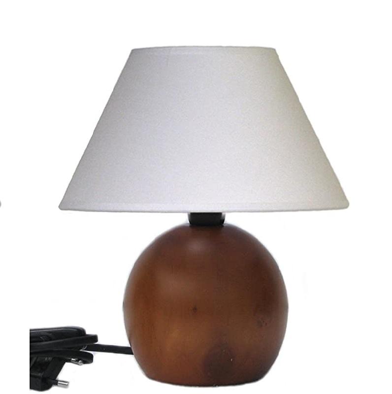 Camera da letto country chic lampada