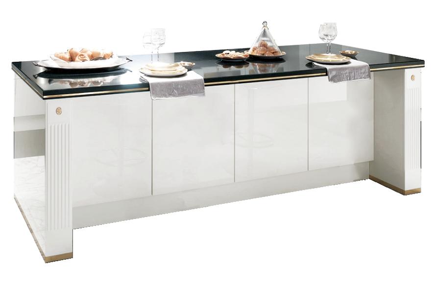 scavolini cucina classica baccarat bianca