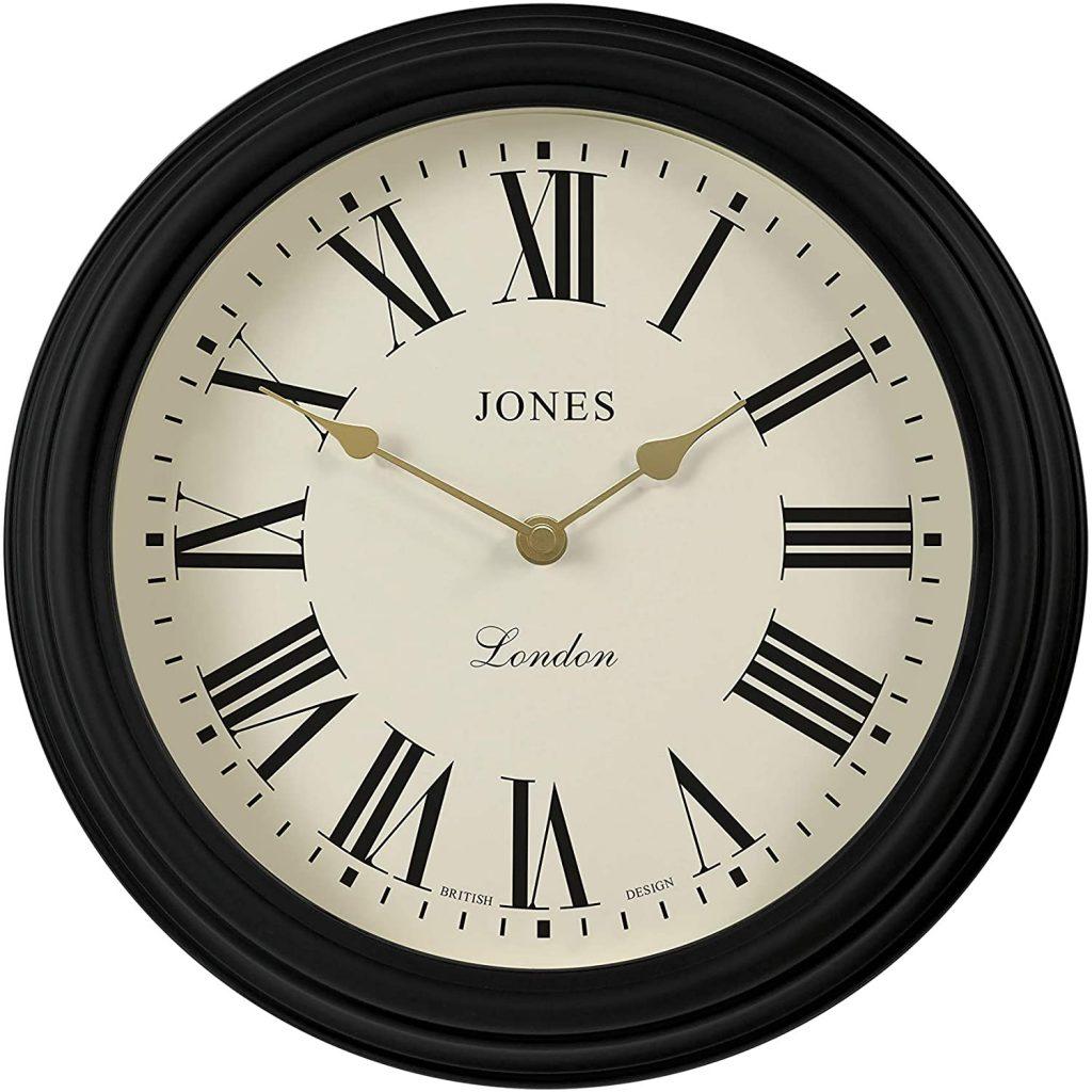 orologio stile classico nero