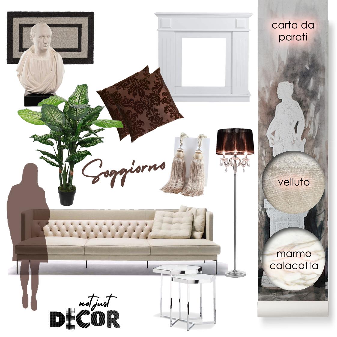 stile classico soggiorno