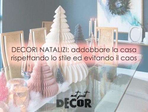decori natalizi stili interior design