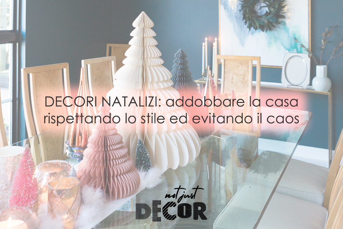 decori natalizi stili interior design