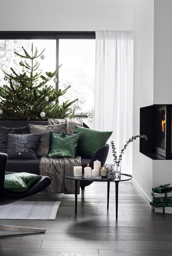 decori natalizi stili moderno design